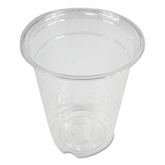 Boardwalk® Clear Plastic Cold Cups, 12 oz, PET, 20 Cups/Sleeve, 50 Sleeves/Carton