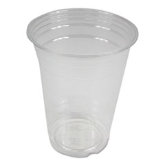 Boardwalk® Clear Plastic Cold Cups, 16 oz, PET, 20 Cups/Sleeve, 50 Sleeves/Carton