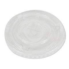 Boardwalk® PET Cold Cup Lids, Fits 16-24 oz Plastic Cups, Clear, 2500/Carton