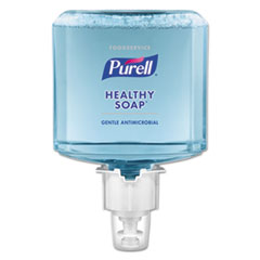 PURELL® Foodservice HEALTHY SOAP 0.5% BAK Antimicrobial Foam, For ES4 Dispensers, 2/CT