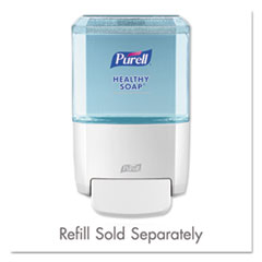 PURELL® ES4 Soap Push-Style Dispenser, 1,200 mL, 4.88 x 8.8 x 11.38, White