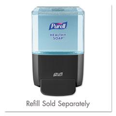 "ES4 Soap Push-Style Dispenser, 1200mL, 4.88"" x 8.19"" x 11.38"", Graphite"