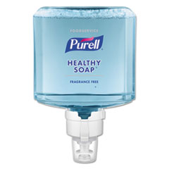 PURELL® Foodservice HEALTHY SOAP Fragrance-Free Foam ES8 Refill, 1200 mL, 2/CT
