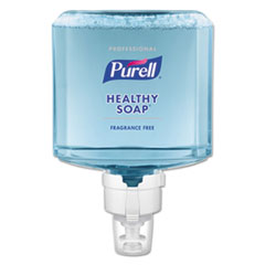 PURELL® Professional HEALTHY SOAP Mild Foam ES8 Refill, Fragrance-Free, 1200 mL, 2/CT