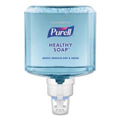 PURELL® Foodservice HEALTHY SOAP Gentle Foam ES8 Refill, Clean, 1200 mL, 2/CT