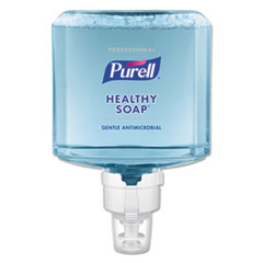 PURELL® Professional HEALTHY SOAP 0.5% BAK Antimicrobial Foam ES8 Refill, 1200 mL, 2/CT