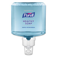 PURELL® Foodservice HEALTHY SOAP 0.5% BAK Antimicrobial Foam ES8 Refill, 1200 mL, 2/CT