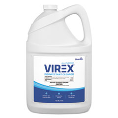 Diversey™ Virex All-Purpose Disinfectant Cleaner, Lemon Scent, 1 gal Container, 2/Carton