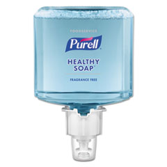 PURELL® Foodservice HEALTHY SOAP Fragrance-Free Foam, 1200 mL, For ES4 Dispensers, 2/CT