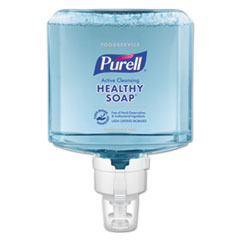 PURELL® Foodservice HEALTHY SOAP Active Cleansing Fragrance-Free Foam ES8 Refill, 2/CT