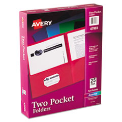 Avery® Two-Pocket Folder