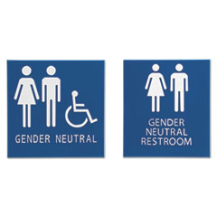Advantus Gender Neutral ADA Signs