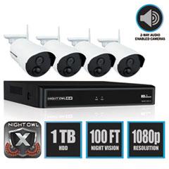 Night Owl 4 Channel Wireless Smart Security Hub Thumbnail