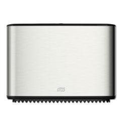 Tork® Image Design Mini Jumbo Bath Tissue Roll Dispenser, 14x5.13x9.88,Stainless Steel