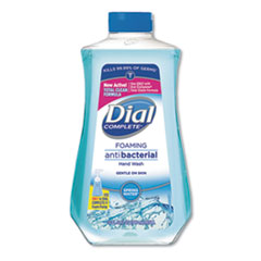 Dial® Antibacterial Foaming Hand Wash Spring Water Scent, 32 oz Bottle, 6/Carton