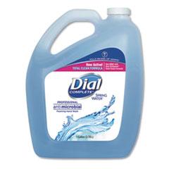 Dial® Professional Antibacterial Foaming Hand Wash, Spring Water, 1 gal, 4/Carton