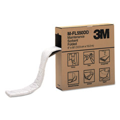 3M™ Sorbent, High-Capacity, Folded Maintenance, 10.5gal Capacity, 1 Roll/Box