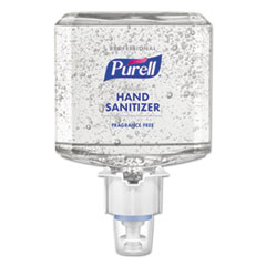 PURELL® Professional Advanced Hand Sanitizer Fragrance Free Gel, For ES4 Dispenser, 2/CT