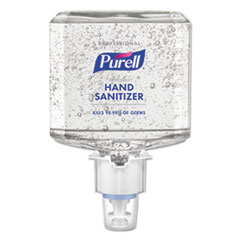 PURELL® Professional Advanced Hand Sanitizer Gel, 1200 mL, For ES4 Dispenser, 2/CT