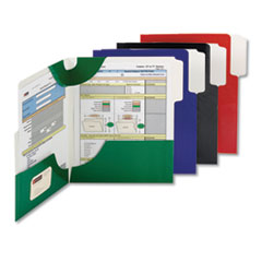 Smead® SuperTab® Two-Pocket Folder Thumbnail