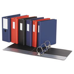 Universal® Deluxe Non-View D-Ring Binder with Label Holder Thumbnail