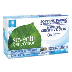 Seventh Generation® Natural Fabric Softener Sheets Thumbnail