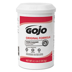 GOJO® ORIGINAL FORMULA Hand Cleaner, 4.5 lb, White, 6/Carton