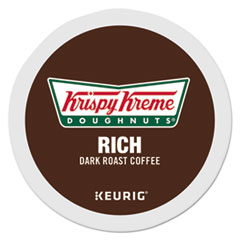 Krispy Kreme Doughnuts® Bold 1937 K-Cups, Coffee, Dark Roast, 24/Box