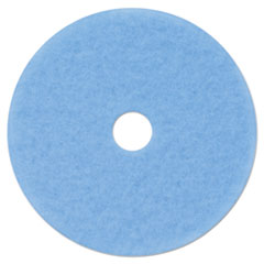 "3M™ Hi-Performance Burnish Pad 3050, 21"" Diameter, Sky Blue, 5/Carton"