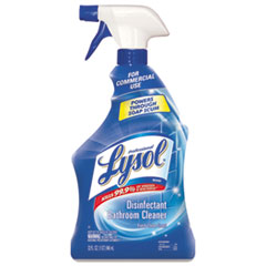 Professional LYSOL® Brand Disinfectant Bathroom Cleaner, 32oz Spray Bottles, 12/Carton