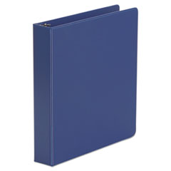 "Universal® Economy Non-View Round Ring Binder, 3 Rings, 1.5"" Capacity, 11 x 8.5, Royal Blue"