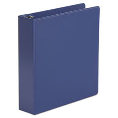 "Universal® Economy Non-View Round Ring Binder, 3 Rings, 2"" Capacity, 11 x 8.5, Royal Blue"