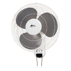 Alera® Wall Mount Fan, 3-Speed, White
