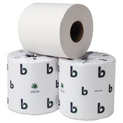 """BOARDWALK GREEN BATHROOM TISSUE, 2-PLY, 3.75"""" X 4"""","""