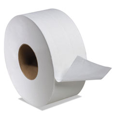 "Boardwalk® Boardwalk Green Jumbo Bathroom Tissue, Septic Safe, 2-Ply, White, 3.55"" x 1000 ft, 12/Carton"