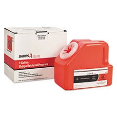 TrustMedical Sharps Retrieval Program Containers