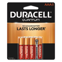 Duracell® Quantum Alkaline AAA Batteries, 8/Pack