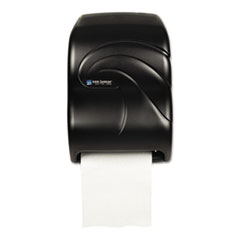 San Jamar® Electronic Touchless Roll Towel Dispenser, 11.75 x 9 x 15.5, Black Pearl