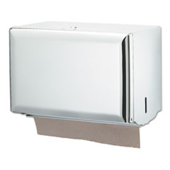 San Jamar® Singlefold Paper Towel Dispenser, 10.75 x 6 x 7.5, White