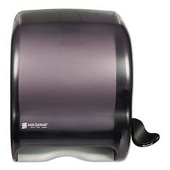 San Jamar® Element Lever Roll Towel Dispenser, Classic, 12.5 x 8.5 x 12.75, Black Pearl