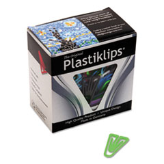 Plastiklips Paper Clips, Large (No. 6), Assorted Colors, 200/Box