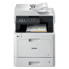 MFCL8610CDW Business Color Laser All-in-One Printer with Duplex Printing and Wireless Networking