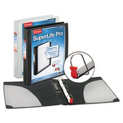 Cardinal® SuperLife™ Pro Easy Open® ClearVue™ Locking Slant-D® Ring Binder