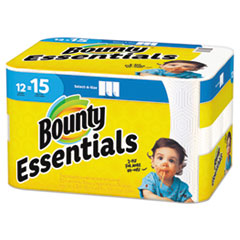 Essentials Select-A-Size Kitchen Roll Paper Towels, 2-Ply, 78 Sheets/Roll, 12 Rolls/Carton