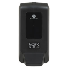"Pacific Blue Ultra Soap/Sanitizer Dispenser 1200 mL Refill, 5.6"" x 4.4"" x 11.5"", Black"