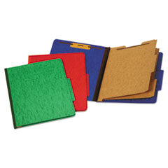 Pendaflex® Six-Section Colored Classification Folders
