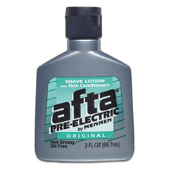 Afta® Pre Electric Shave Lotion, 3 oz Bottle, 24/Carton