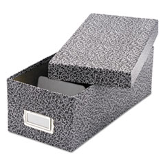 Oxford™ Reinforced Board Card File with Lift-Off Cover