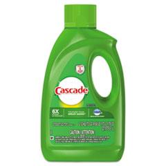 Cascade® Dishwasher Gel with Dawn, Fresh, 75 oz Bottle, 6/Carton