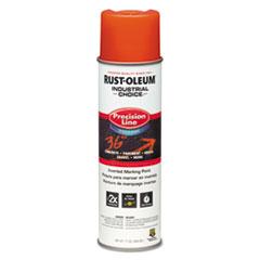 Rust-Oleum® Industrial Choice Precision Line Marking Paint, Orange, 20 oz Aerosol